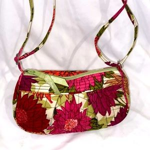 Vera Bradley Hello Dahlia crossbody purse